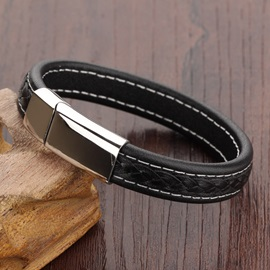 Punk Style Concise Male Bracelet