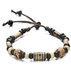 Chic Beads Ceramics Men's Bracelet
