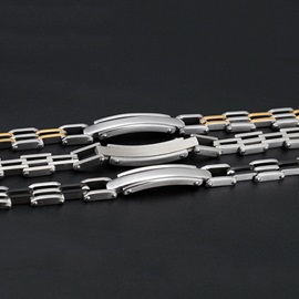 Stainless Steel All Matched Men's Bracelet