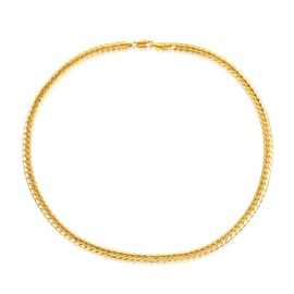 Best Seller Wheat 18K Gold Plating Necklace for Men
