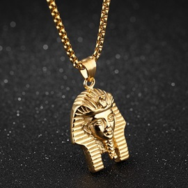 Hip Pop Pharaoh Pendant Men's Necklace