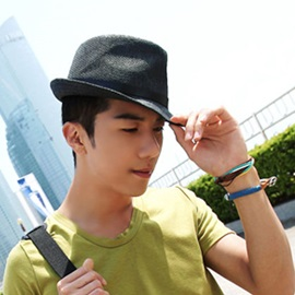 Handsome with Belt Hat For Men