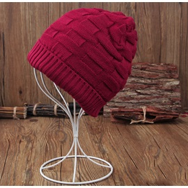 Solid Color Men's Knitted Beanie