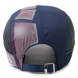Letters Printed Mesh Patchwork Fashion Baseball Hat