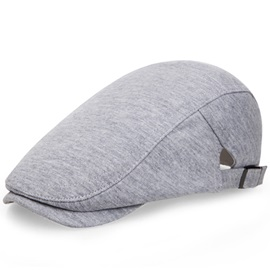 Solid Color Casual Men's Peaked Cap