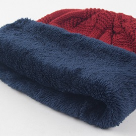 Winter Slouchy Knitting Cap for Men