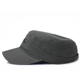 Cotton Camouflage Letter Embroidery Men's Military Hat