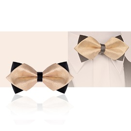 British Style Double-deck Men's Bow Tie