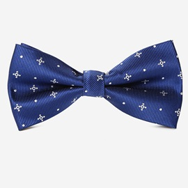 Pattern Decorated Men's Bow Tie