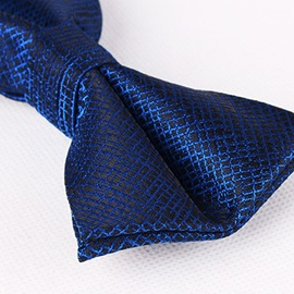 Plaid British Wedding Men's Necktie
