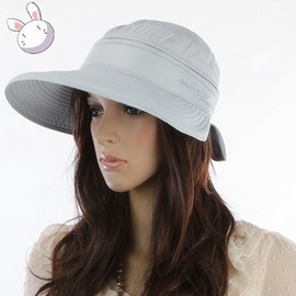 Removable Top with Bowknot Sun Hat