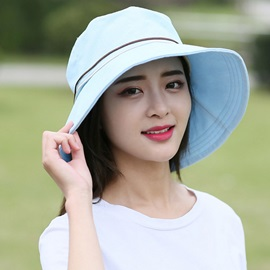 Foldable UV Protection Pure Color Sun Hat