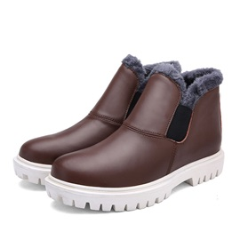 Purfle Wedge Sole Men's Boots