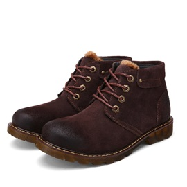 Retro Round Toe Men's Martin Boots