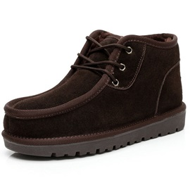 Purfle Suede Lace-Up Men's Boots
