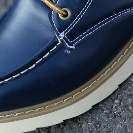 PU Solid Color Round Toe Men's Winter Boots