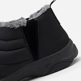 Round Toe Slip-On Men's Winter Boots