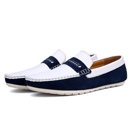 Thread Low-Up Slip On Men's Shoes