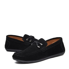 Suede Slip-On Men's Shoes