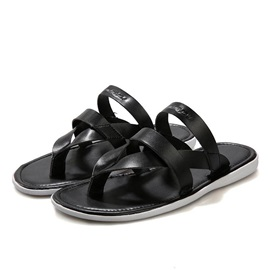 Strappy PU Thong Men's Flip-Flops