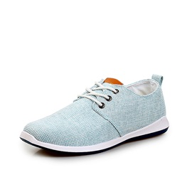 Breathable Round Toe Lace-Up Men's Shoes