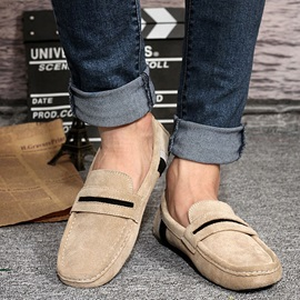 Suede Slip-On Men's Loafers