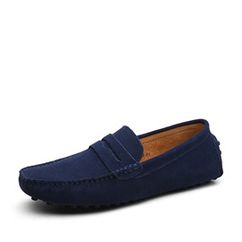 Suede Simple Multi Color Slip-On Men's Loafers