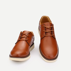 Front Lace-Up Men's Casual Shoes