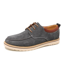 Suede Lace-Up Men's Commuter Boots
