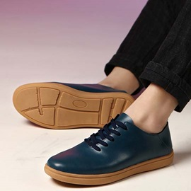 British Lace-Up Casual Shoes for Men