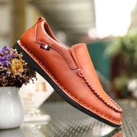 Breathable Thread Slip-On Loafers