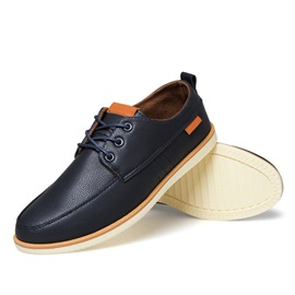 British Low-Cut Round Toe Casual Shoes