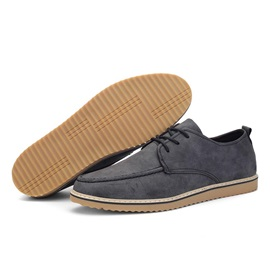 British Low-Cut Lace-Up Casual Shoes