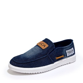 Denim Slip-On Men's Loafers