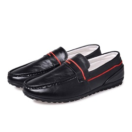 British PU Low-Cut Men's Casual Shoes