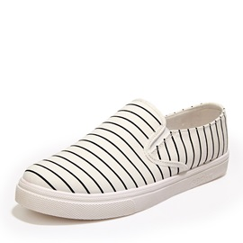 Striped Slip-On Loafers for Men