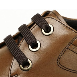 PU Low-Cut Lace-Up Casual Shoes for Men