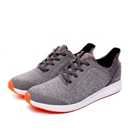 Breathable Lace-Up Front Running Shoes
