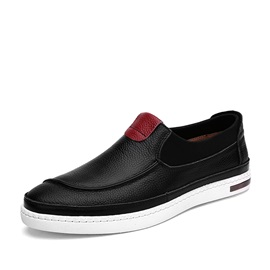 Breathable PU Elastic Band Loafers
