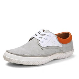 Breathable Suede Round Toe Casual Shoes