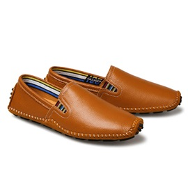 PU Treand Slip-On Driving Shoes