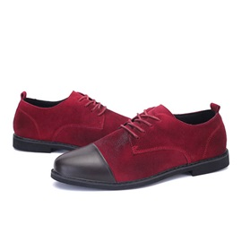British Suede Cape Toe Men's Casual Shoes