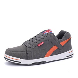 Suede Lace-Up Skater Shoes