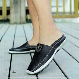Breathable Thread Slip-On Casual Shoes