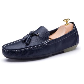 PU Tassels Slip-On Driving Shoes