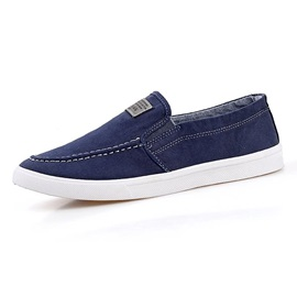 Solid Color Thread Canvas Shoes