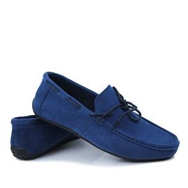 Solid Color PU Slip-On Driving Shoes for Men