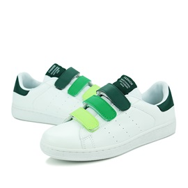 Breathable PU Velcro Skater Shoes