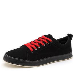 Suede Lace-Up Casual Shoes for Men