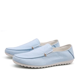 Breathable Slip-On Canvas Loafers